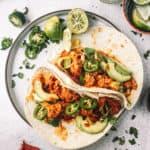 Vegan Cauliflower Al Pastor Tacos