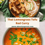 pinterest image for Thai red curry.